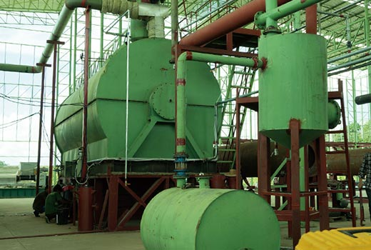 Green Renewable Waste Oil Refining Project