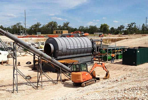 Waste Tire Recycle To Fuel Oil Project