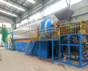 Huayin Continuous Waste Tire to Oil Pyrolysis Plant