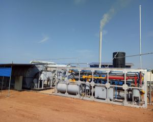 Waste Tire to Fuel Oil Pyrolysis Plant in Sri Lanka