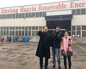 Egypt Customer Visited Huayin Factory