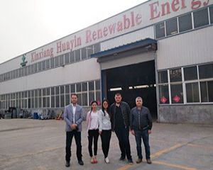 Congratulation! Albania Clients Signed Contract with Huayin Company