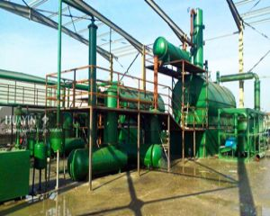 Plastic Waste to Diesel Oil Plant in Bulgaria