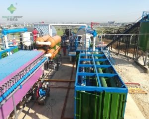 Oil Sludge Process Plant in Albania