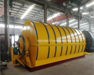 Waste Tyre Pyrolysis Plant Successfully Running in Bangladesh