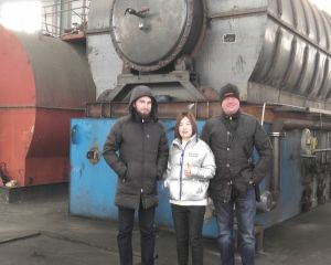 Russian Customers Visit Huayin Factory