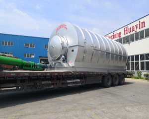 Two Sets Pyrolysis Machine Deliver To Ukraine