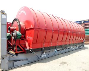 Oil Sludge Pyrolysis Plant in Egypt