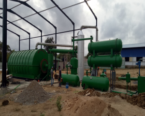 Waste Tyre Pyrolysis to Oil Plant in Sri Lanka