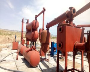 Pyrolysis and Distillation Plant in Iran