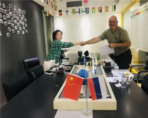 Congratulation! Russian client signed contract with Huayin