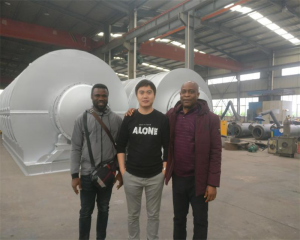 Welcome Nigeria Clients Visit Huayin Factory