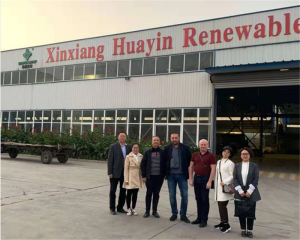 Welcome Latvia Clients Visit Huayin Factory