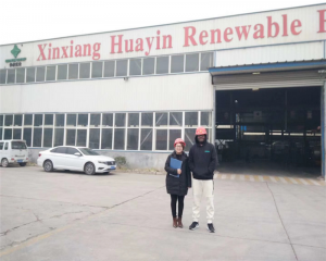 Welcome Ghana Client Visit Huayin Pyrolysis Factory