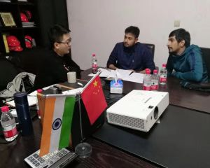 Congratulation! 	India Customer Signed Contract with Huayin