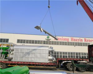 Biomass Continuous Pyrolysis Plant Delivery