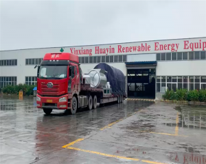 Delivered 10ton Pyrolysis Plant to Saudi Arabia