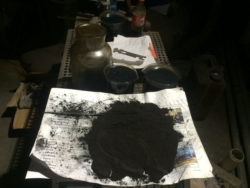 carbon black after plastic pyrolysis process